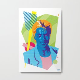 SONNY :: Memphis Design :: Miami Vice Series Metal Print