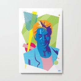 SONNY :: Memphis Design :: Miami Vice Series Metal Print