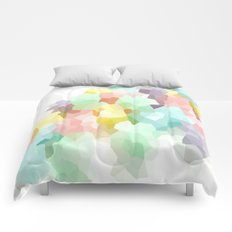 Pastel Abstract Comforters