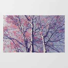 The Trees - The Enchanted Forest in Spring Rug