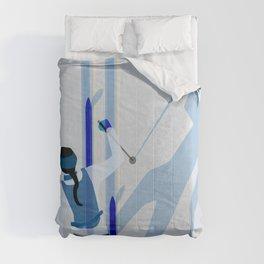 Birkebeinerrennet Birkebeiner Nordic Skiing by Dennis Weber ShreddyStudio Comforters