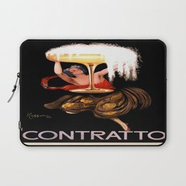 Vintage poster - Contratto Laptop Sleeve