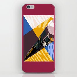 Travel South for Winter Sunshine iPhone Skin