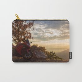 Setting the Ride to Happiness Carry-All Pouch