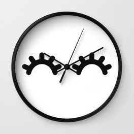 Happy Eyes Wall Clock