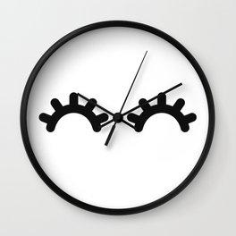 Happy Eyes Wall Clock