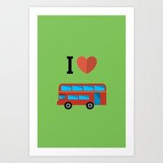 I love london Art Print