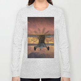 Loud Planes Fly Low Long Sleeve T-shirt