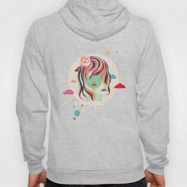 Miss in clouds 2 Hoody
