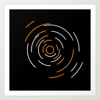Concentric Circles Art Print
