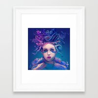 queen Framed Art Prints featuring Queen by Alessandro Pautasso
