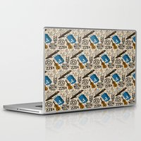 sherlock holmes Laptop & iPad Skins featuring SHERLOCK HOLMES  by Bilqis