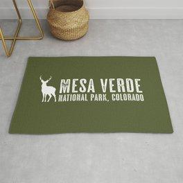 Deer: Mesa Verde, Colorado Rug