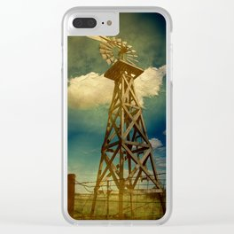 Out Texas Way Clear iPhone Case