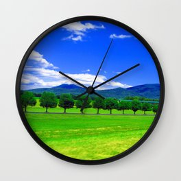 Moving Fast Wall Clock