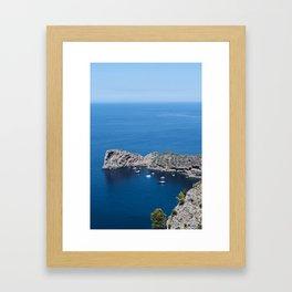 Majorca Framed Art Print