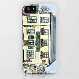 The Elephant and Castle, Lewes iPhone Case