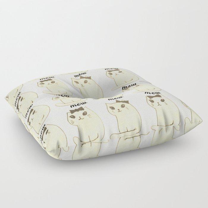cats-171 Floor Pillow