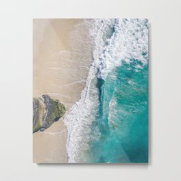Serenity Beach Metal Print