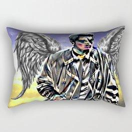 Castiel: An Angel of the Lord Rectangular Pillow