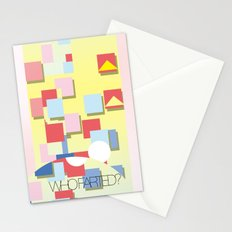 WHOFARTED? Stationery Cards