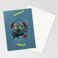 Hooting lesson Stationery Cards