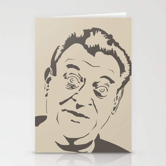 Rodney Dangerfield Stationery Cards By Finlay Mcnevin