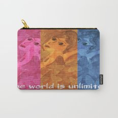 The world is umlimited. I am free... Carry-All Pouch