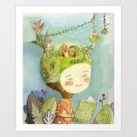 Little Terra Art Print