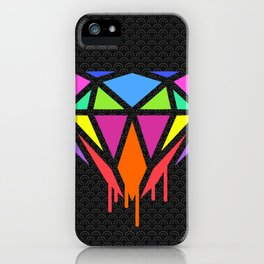 Diamond colour 2018 s6 coloured art style hot trend popular iPhone Case