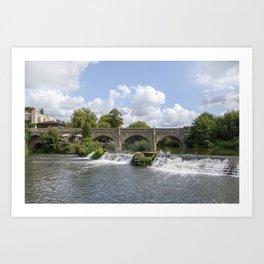 Bathampton bridge Art Print