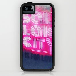 Salt Lake City is for lovers iPhone Case