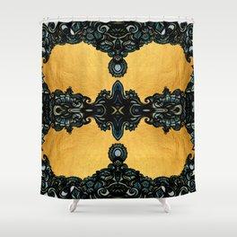Golden fleece Shower Curtain