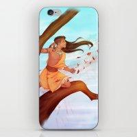 pocahontas iPhone & iPod Skins featuring Pocahontas by ribkaDory