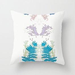 Botanic Body Throw Pillow