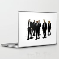reservoir dogs Laptop & iPad Skins featuring Reservoir Dawgs by David Procter