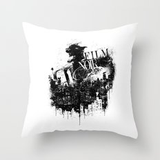 Like a Film Noir Throw Pillow