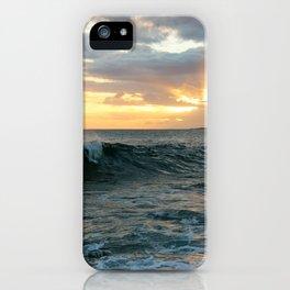Poipu Waves iPhone Case
