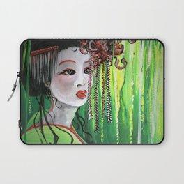 Geisha in Willows: The Arrogant Concubine Laptop Sleeve