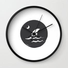 Fear the Sea Wall Clock