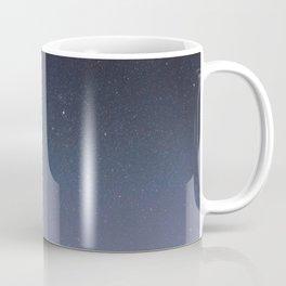 Night sky with shiny stars, Milky Way galaxy Coffee Mug