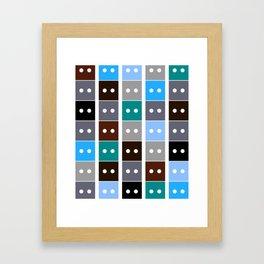 Building Blocks Framed Art Print