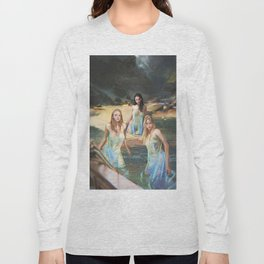 "Sirens (""Charm of of the Ancient Enchantress"" Series) Long Sleeve T-shirt"
