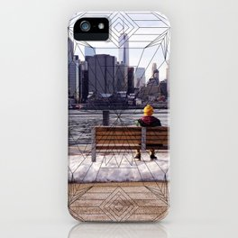 New York Mandala iPhone Case