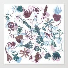 autumn flowers Canvas Print