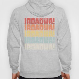Retro 70s BROADWAY Text   Musical Theater Hoody