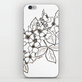 Vine Roses iPhone Skin