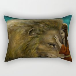 Aslan & Lucy Rectangular Pillow