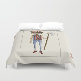Jack of Diamonds Duvet Cover
