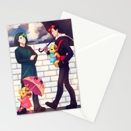 When it rains - Markiplier + Jacksepticeye Stationery Cards
